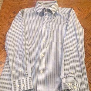 Boys pinstripe button down shirt